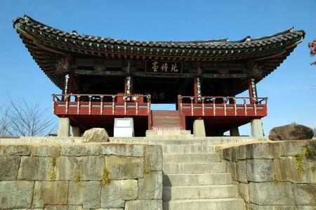 Jinju Fortress in South Korea
