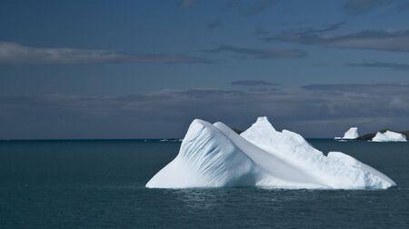 Antarctic iceberg - smooth Standard-Bild