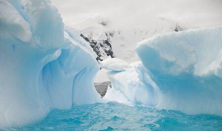 Antarctic ice cave