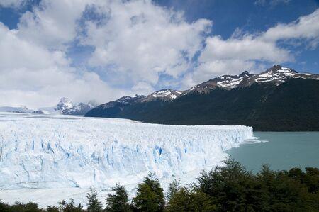 perito: Perito Moreno Glacier - Argentina Stock Photo