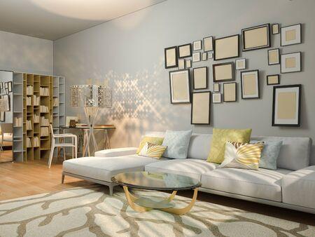 badezimmer rostoptik modernes appartement studio 1408