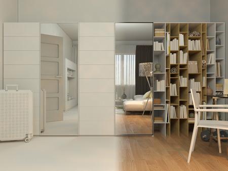 schlafzimmer schlicht moderne wohnung studio 1408