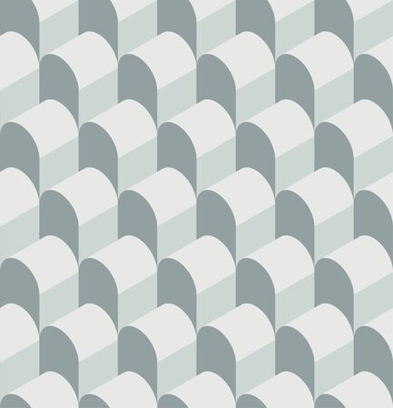 hangar: Vector illustration of a seamless repeating geometric pattern. Geometric pattern in the form of a hangar for fabrics