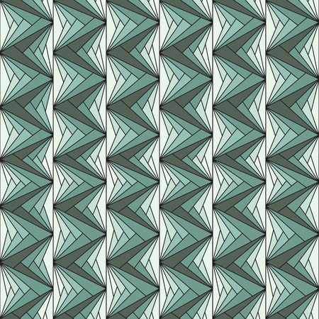 catchy: Vector illustration of a seamless repeating geometric pattern. Geometric pattern in the form of a triangular for fabrics
