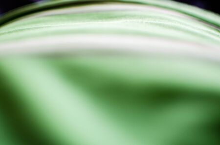 moss: Green white blur abstract dynamic background texture. Stock Photo