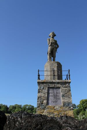 admiral: Statue of Admiral, Lord Nelson, English hero and icon.