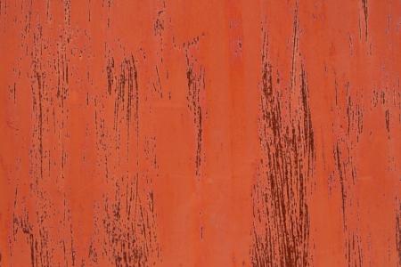 rust red: A base de metal con pintura naranja y rayas sobre el �xido rojo. Foto de archivo