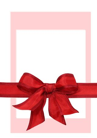 Big red holiday bow