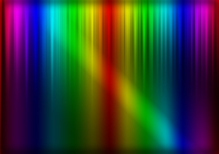oscillation: abstract techno background with colors and lights