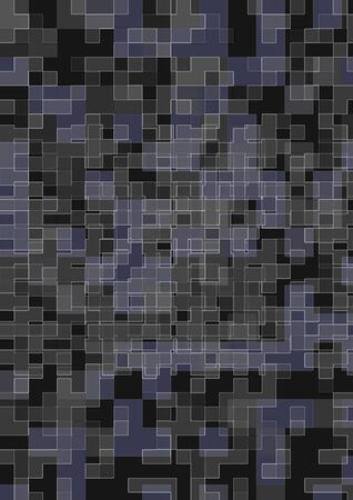 abstract background of mosaic grey tiles photo