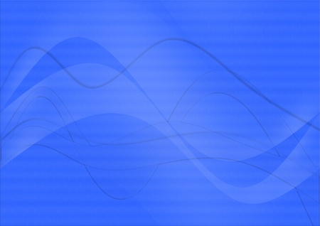 oscillation: abstract vibrant blue background