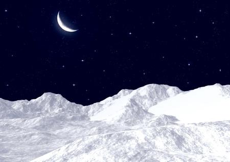 Snow mountain tops Stock Photo - 11532867