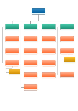 organization design: organizational structure Stock Photo