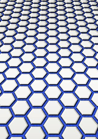 background from steel honeycomb