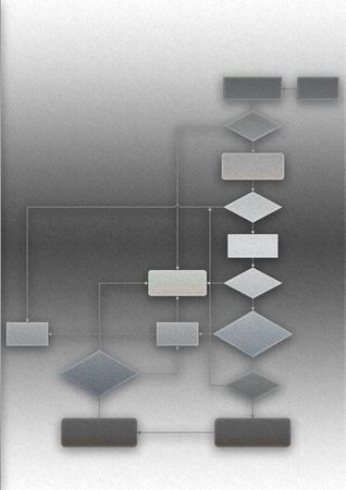 processus de programmation flow chart Banque d'images