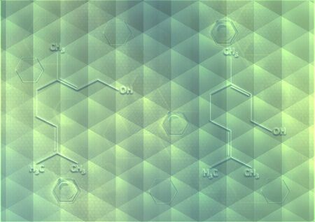 Abstract background form of honeycombs photo