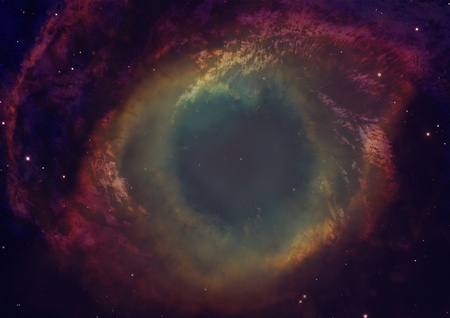 nebula in an outer space photo