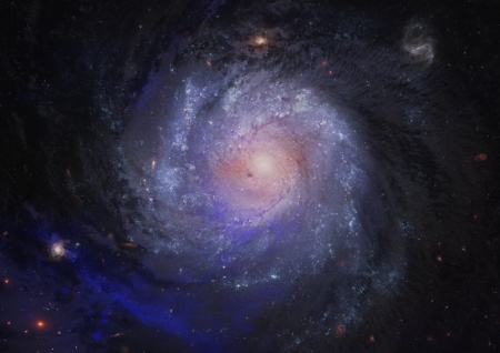Far spiral galaxy