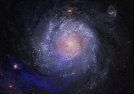Galaxie spirale Extr�me