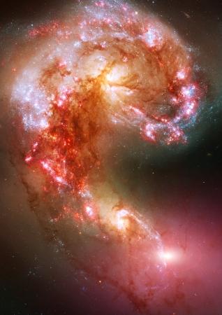 Space stars and nebula Stock Photo - 13941373