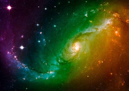 astral: Space stars and nebula
