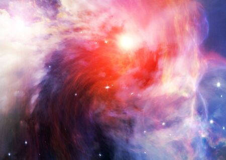 Far space being shone nebula as abstract background Stock Photo - 14099365