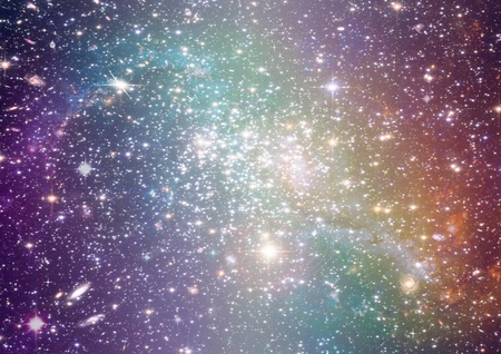 Far away galaxy photo