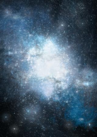 costellazioni: Far spazio viene brillato nebulosa come sfondo astratto