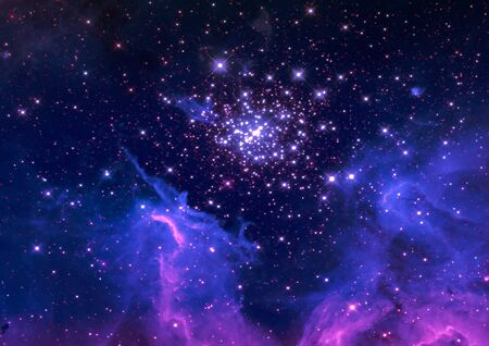 Far space being shone nebula as abstract background Stock Photo - 14900167