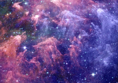Small part of an infinite star field Stock Photo - 14970112