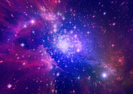 far away: Far away galaxy Stock Photo