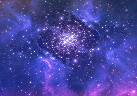 Small part of an infinite star field Stock Photo - 15047027