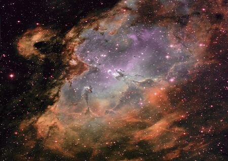 Small part of an infinite star field Stock Photo - 15901539