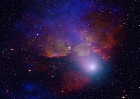 �toiles et des n�buleuses spatiales
