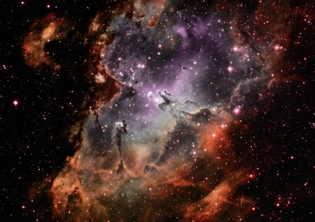 nebulae: Far away galaxy Stock Photo