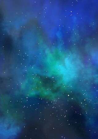 Small part of an infinite star field Stock Photo - 16794736