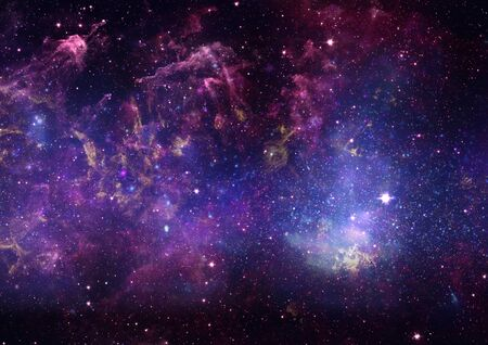 Star field in space, a nebulae and a gas congestion Stock Photo - 17163744
