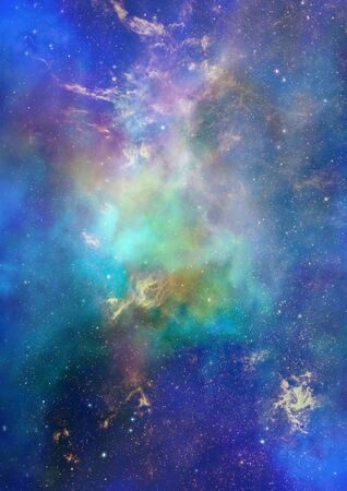 Being shone nebula Stock Photo