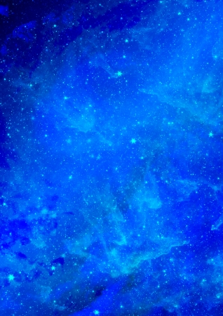 Small part of an infinite star field of space in the Universe photo