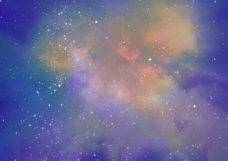 Being shone nebula Stock Photo - 18124158