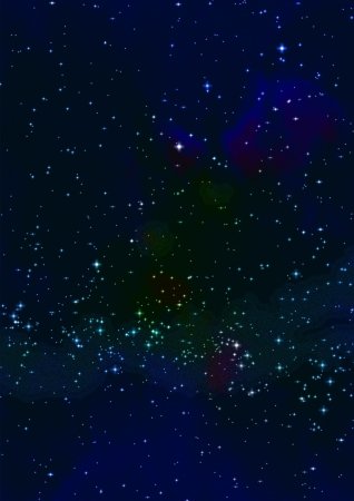 Small part of an infinite star field Stock Photo - 18201102