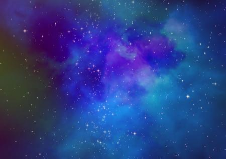 Champ d'�toiles dans l'espace