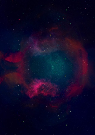 Small part of an infinite star field Stock Photo - 19217590