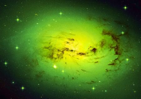 우주의 별 모양 필드