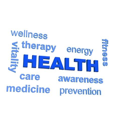 인간의 건강과 연관 어떤 단어