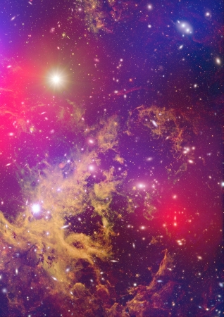 Small part of an infinite star field of space in the Universe Stock Photo - 21726436
