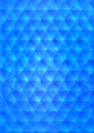 Simple blue abstract background of soft light lines photo
