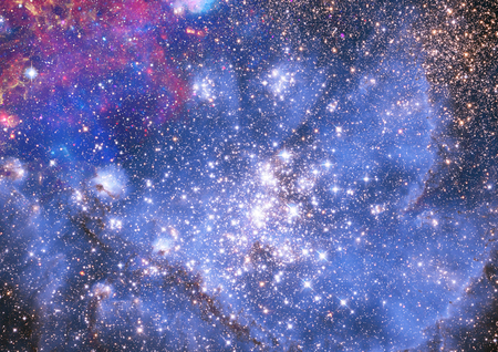 Small part of an infinite star field of space in the Universe Stock Photo - 22661588
