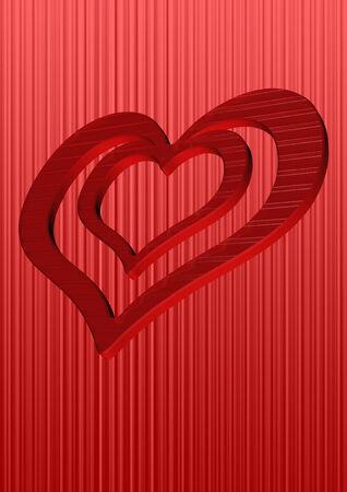 generate: Three dimensional generate valentine