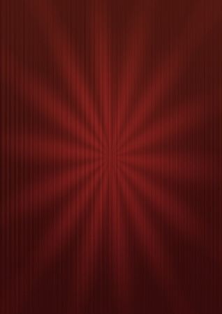 Abstract red bright striped background with sunburst Stock Photo